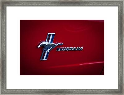 1966 Ford Mustang Framed Print by David Patterson