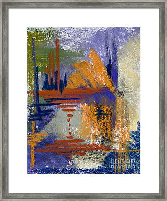 Through The Looking Glass Framed Print by Tracy L Teeter