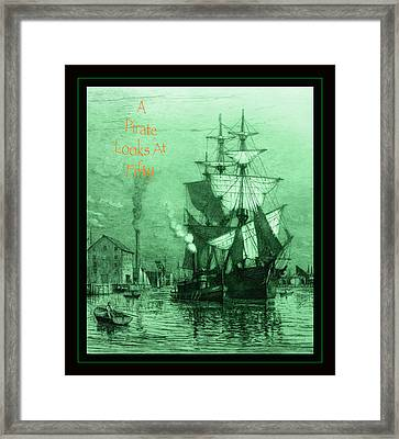 A Pirate Looks At Fifty Framed Print by John Stephens