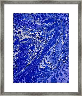 Abstract 33 Framed Print by J D Owen