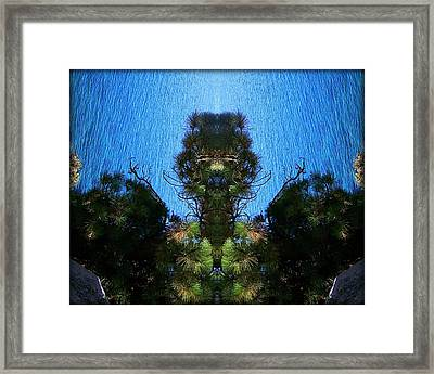 Abstract 50 Framed Print by J D Owen