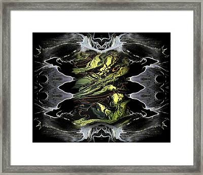 Abstract 51 Framed Print by J D Owen