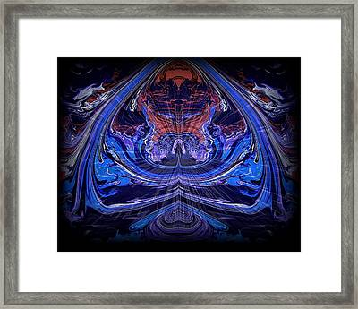 Abstract 71 Framed Print by J D Owen