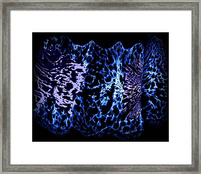 Abstract 80 Framed Print by J D Owen