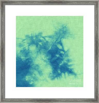 Abstract Batik Pattern Framed Print by Kerstin Ivarsson