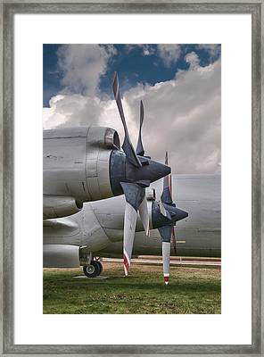 3 And 4 Framed Print by Guy Whiteley