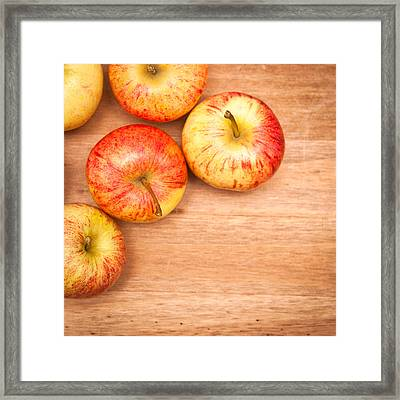 Apples Framed Print by Tom Gowanlock
