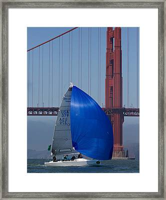 At The Gate Framed Print by Steven Lapkin