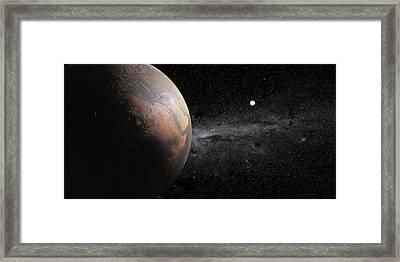 Barren Earth Framed Print by Peter Matulavich