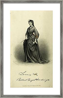 Belle Boyd (1844-1900) Framed Print by Granger