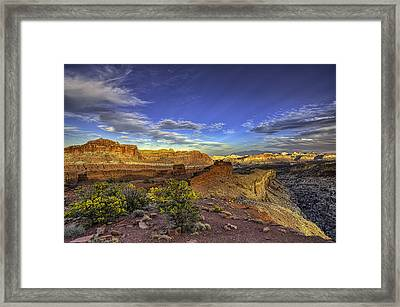 Boundless Framed Print by Stephen Campbell