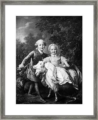 Charles X (1757-1836) Framed Print by Granger