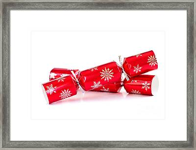 Christmas Crackers Framed Print by Elena Elisseeva