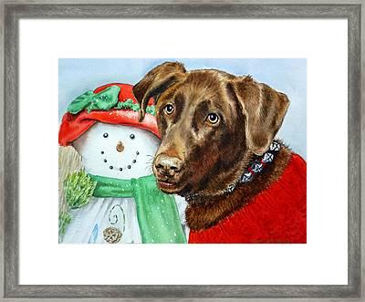 Christmas Framed Print by Irina Sztukowski