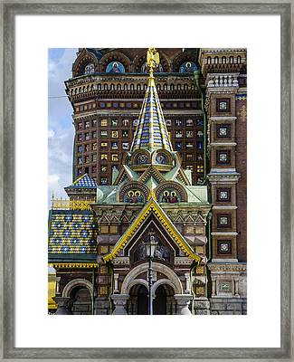 Church Of The Spilled Blood - St. Petersburg Russia Framed Print by Jon Berghoff