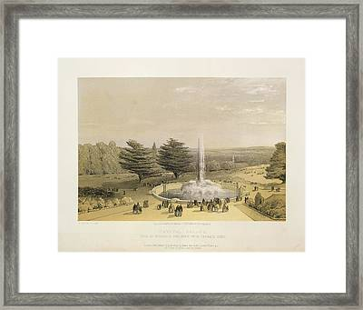 Crystal Palace Framed Print by British Library