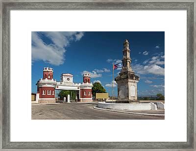 Cuba, Matanzas Province, Matanzas Framed Print by Walter Bibikow