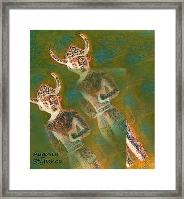 Cyprus Gods Of Trade. Framed Print by Augusta Stylianou