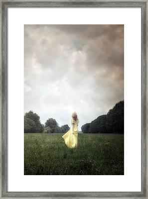 Dancing Framed Print by Joana Kruse
