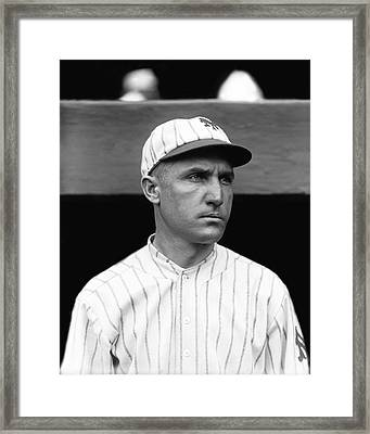 David J. Dave Bancroft Framed Print by Retro Images Archive