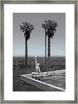 Desert Oasis Framed Print by Gregory Dyer