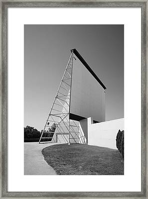 Drive-in Movie Framed Print by Frank Romeo