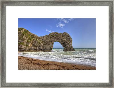 Durdle Door Framed Print by Joana Kruse