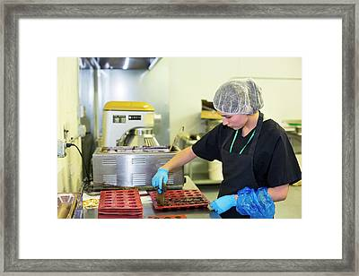 Edible Marijuana Products Factory Framed Print by Jim West