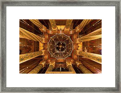 Episcopal Cathedral Of Curtea De Arges Framed Print by Martin Zwick