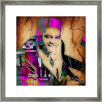 Fats Domino Collection Framed Print by Marvin Blaine