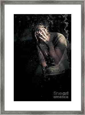 Fear Framed Print by Jorgo Photography - Wall Art Gallery