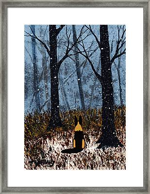 First Snow Framed Print by Todd Young