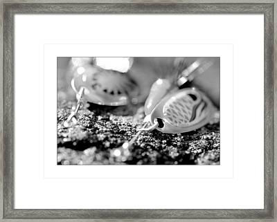 Fishing Lure Framed Print by Toppart Sweden