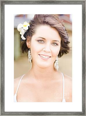 Flower Girl Framed Print by Jorgo Photography - Wall Art Gallery