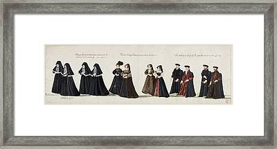 Funeral Processions Framed Print by British Library