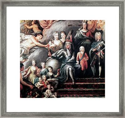George I (1660-1727) Framed Print by Granger