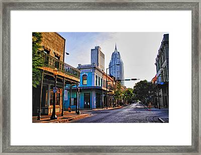 3 Georges Framed Print by Michael Thomas