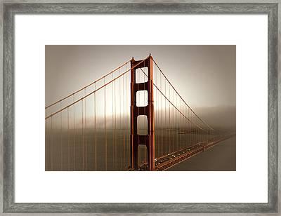Lovely Golden Gate Bridge Framed Print by Melanie Viola
