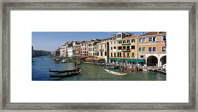 Grand Canal Venice Italy Framed Print by Panoramic Images