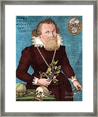 Gregor Horstius  Framed Print by Science Source