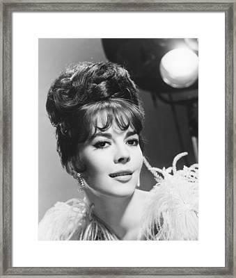 Gypsy, Natalie Wood, 1962 Framed Print by Everett
