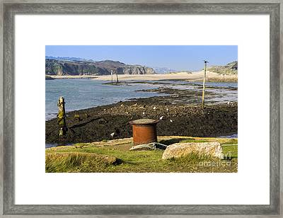 Hayle Harbour Framed Print by Brian Roscorla