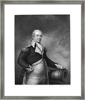 Henry Knox (1750-1806) Framed Print by Granger