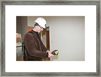 Hutton Rise Housing Development Framed Print by Ashley Cooper