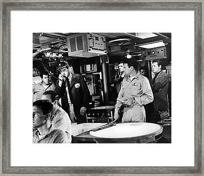 Ice Station Zebra  Framed Print by Silver Screen