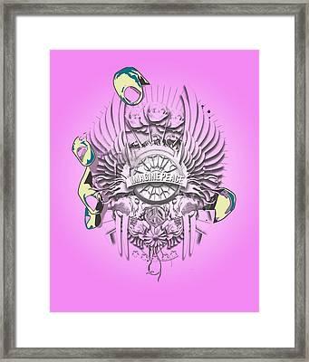 Imagine Lennon Framed Print by Pop Culture Prophet
