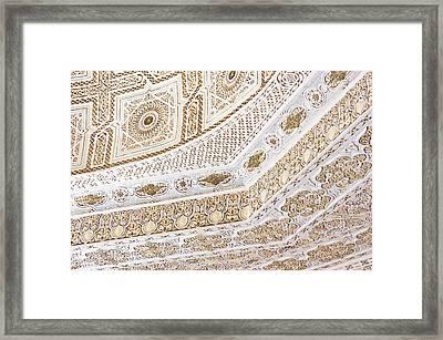 Islamic Architecture Framed Print by Tom Gowanlock
