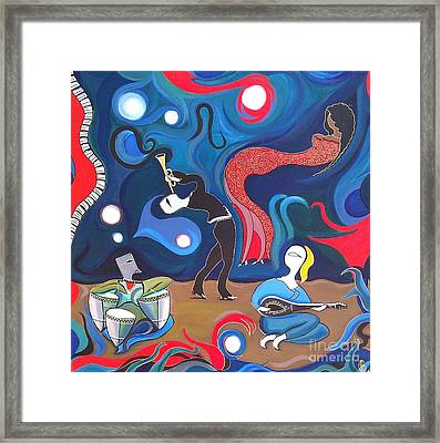 Jazz Framed Print by John Lyes