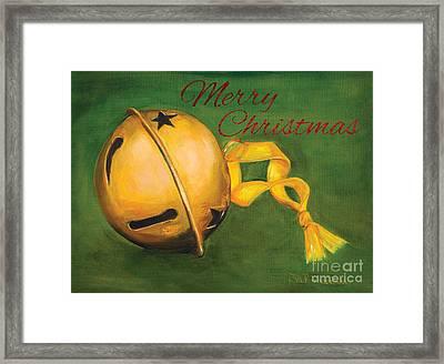 Jingle Bells Framed Print by Iris Richardson