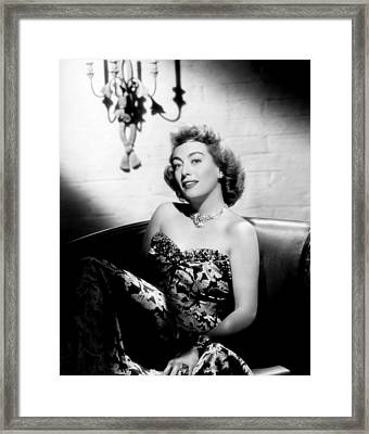 Joan Crawford, Ca. 1947 Framed Print by Everett